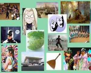 формы культуры (физическая, материальная духовная)